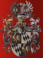 knightly coat of arms