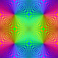 pattern colorful abstract op art