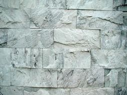 structure of stone wall