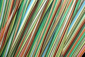 wallpaper with colorful stripes