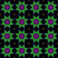 seamless wallpaper black and green pattern