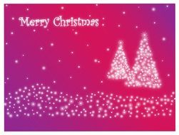 merry christmas card celebration pattern winter background