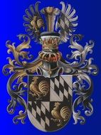 european tradition coat of arms