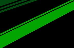 black background green color lines pattern template