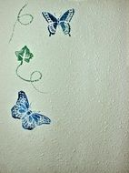 wall stencil texture paint