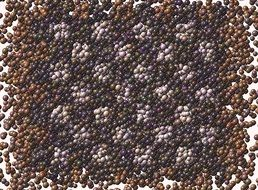 wallpaper with brown purple balls