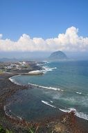 view of jeju island