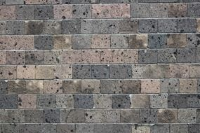grey stone brick wall