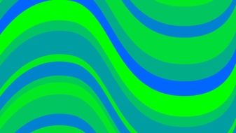 backgrounds green blue waves