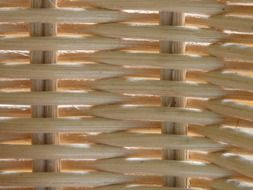 rattan braid wicker basket woven