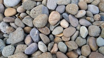 background with grey pebbles