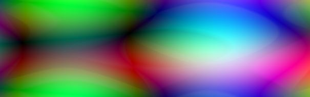 iridescent abstract banner