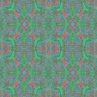 pastel color with greenish patches in a kaleidoscope