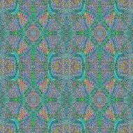 pastel colors with bluish patches in a kaleidoscope