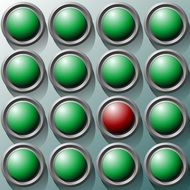 dots buttons circles icon symbol
