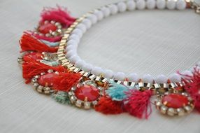 jewelry necklace beads fashion