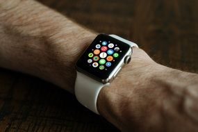 apple smart watch interface