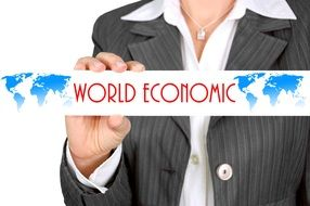 Clipart of the world economy