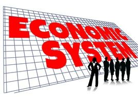 Clipart of the economy system