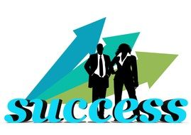 Clipart of business success