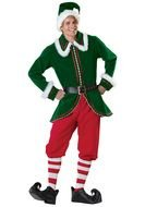 Christmas Elf Costume as a picture for a clipart