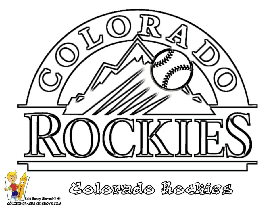 clipart of the MLB Team Logo