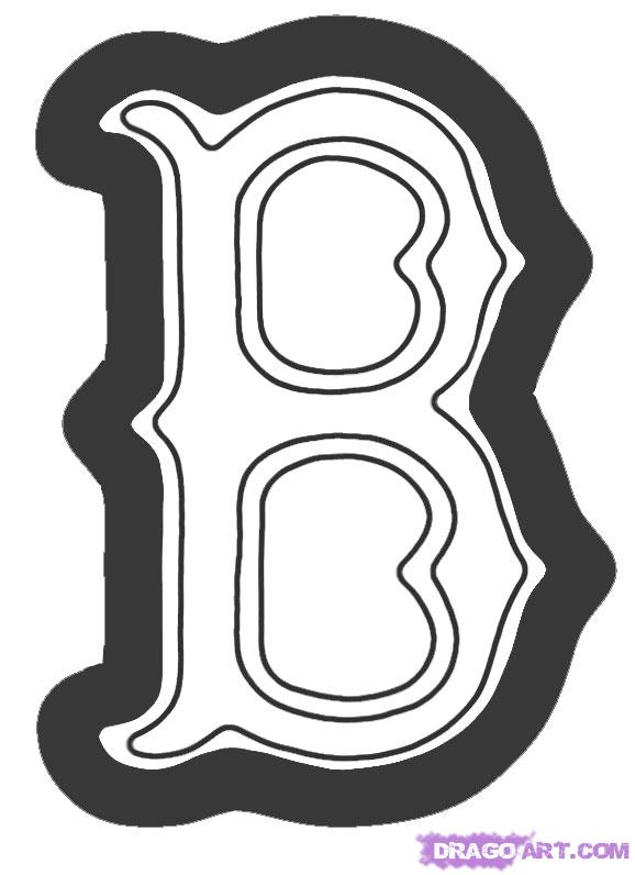 Boston Red Sox Coloring Pages - Coloring Pages Kids 2019 | 796x578