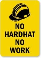 Hard Hat Signs drawing
