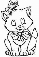 Cat Coloring Pages drawing