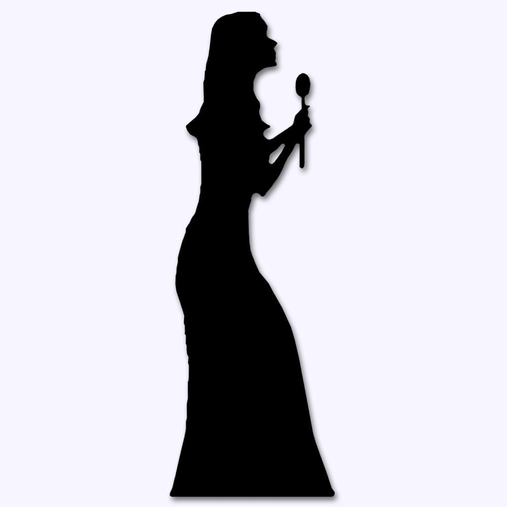 singer clip art black free vectors -3156 downloads found at Vectorportal