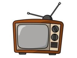 Cartoon TV Clipart