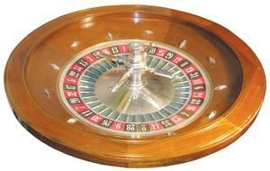 Roulette Wheel Table Top