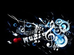 I Love Music, digital art