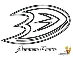 hockey team logo coloring pages n2