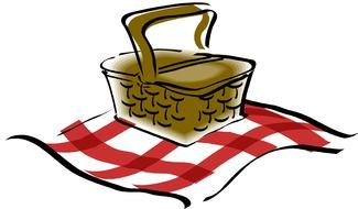 clipart of the picnic