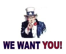 Uncle Sam We Want You drawing