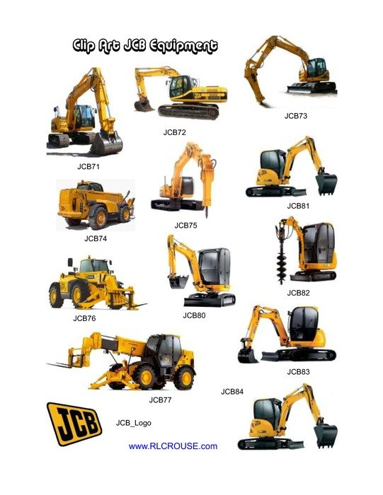 Heavy machinery clipart