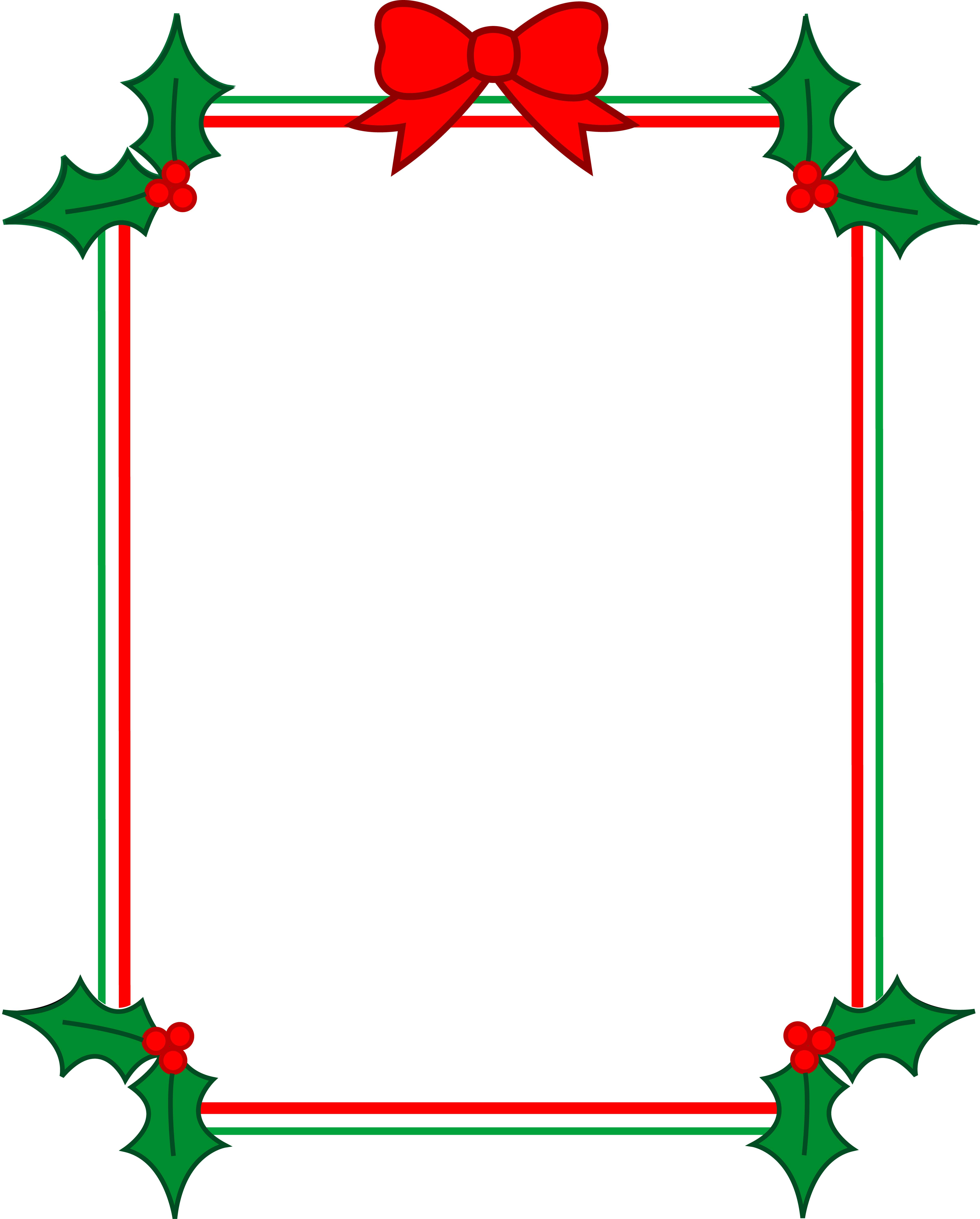 picture relating to Free Printable Christmas Clip Art named Cost-free Printable Xmas Borders Clip Artwork N7 absolutely free impression