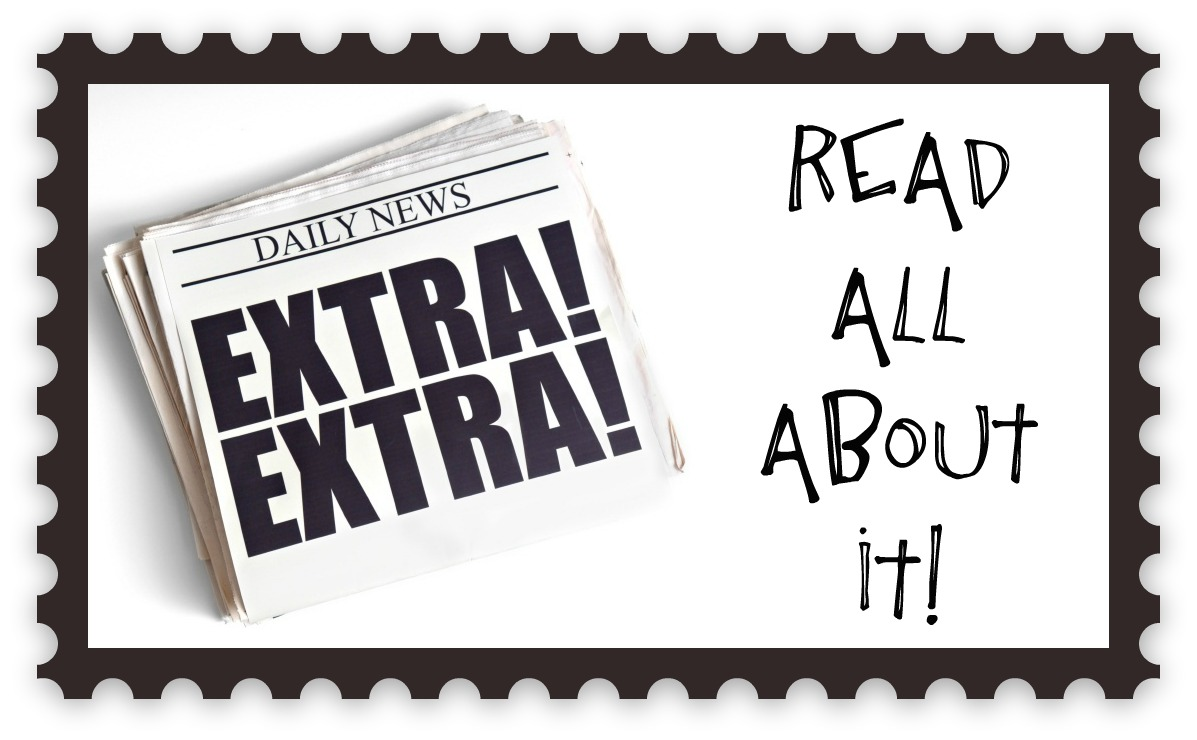 Extra Read All About It drawing free image