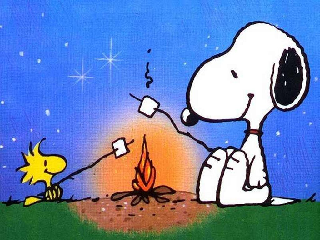 Clipart Of The Snoopy Camping Free Image