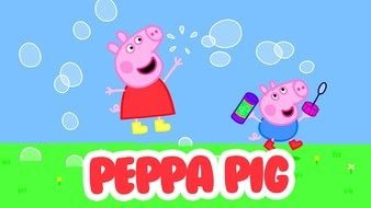 Peppa Pig as a graphic illustration