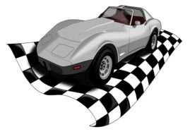 speed Classic Car drawing