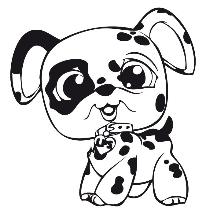 Littlest Pet Shop Coloring Pages N4 Free Image