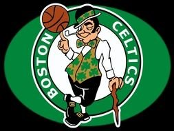 green logo of Boston Celtics