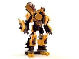 Clipart of Mini LEGO Transformers