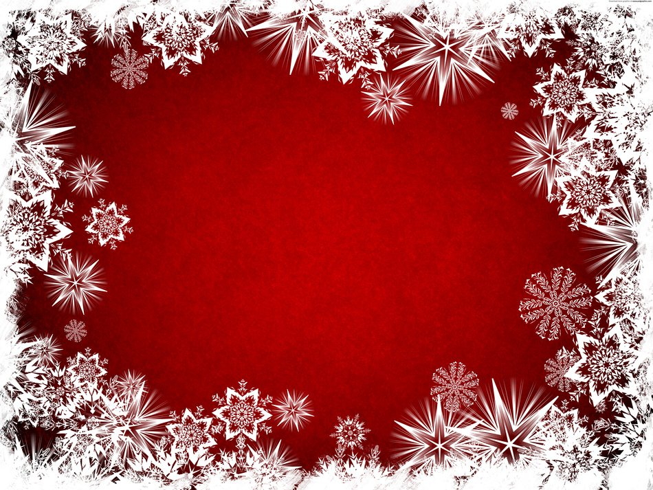 Free Christmas Background red and white