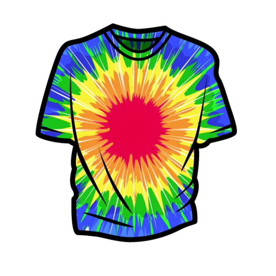 Image result for tie dye clip art