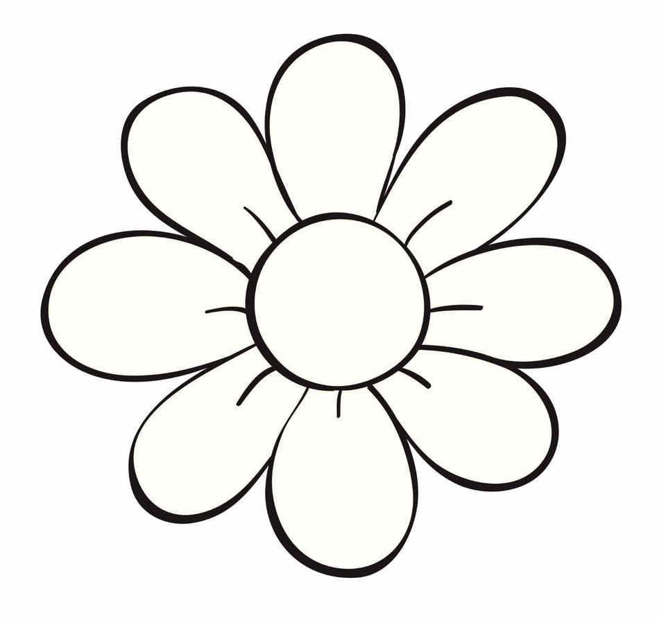 Dibujos Para Colorear De Flores free image