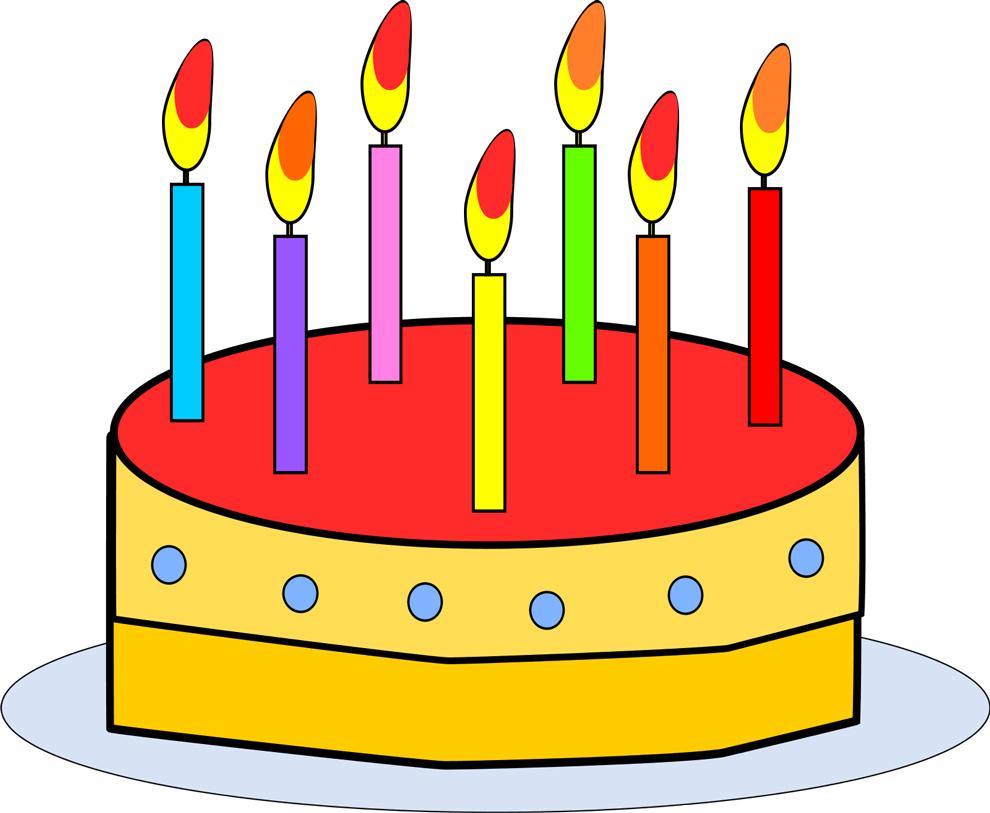 Disegno Di Torta Buon Compleanno A Colori Free Image