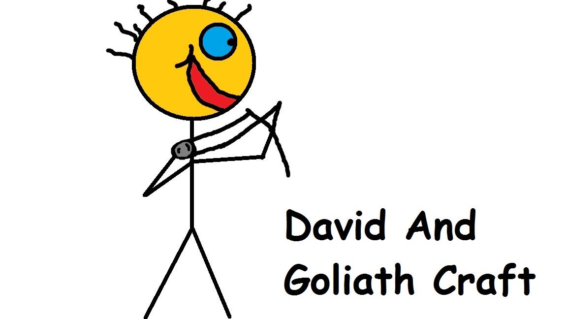 David And Goliath Preschool Crafts Free Image